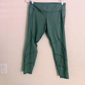 grey with mesh leggings